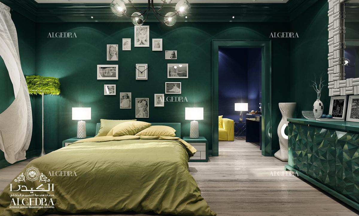 التصميم الفاخر ديكور غرفة النوم