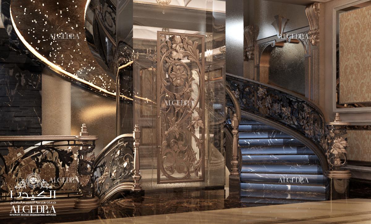 Ceiling And Floor Art Design