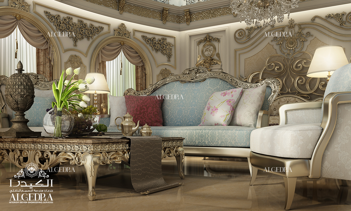 pastel colors decor for Living Room