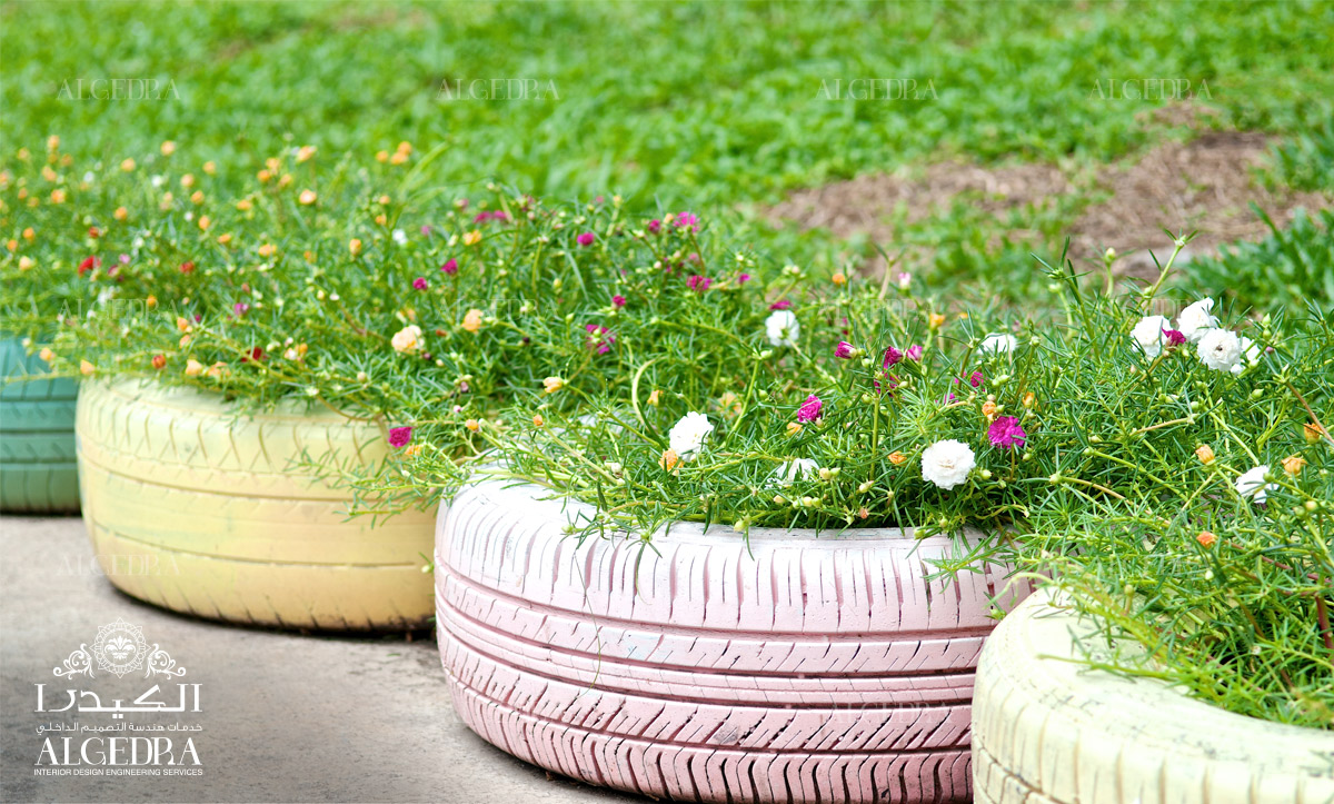 تصميم حديقة البيت