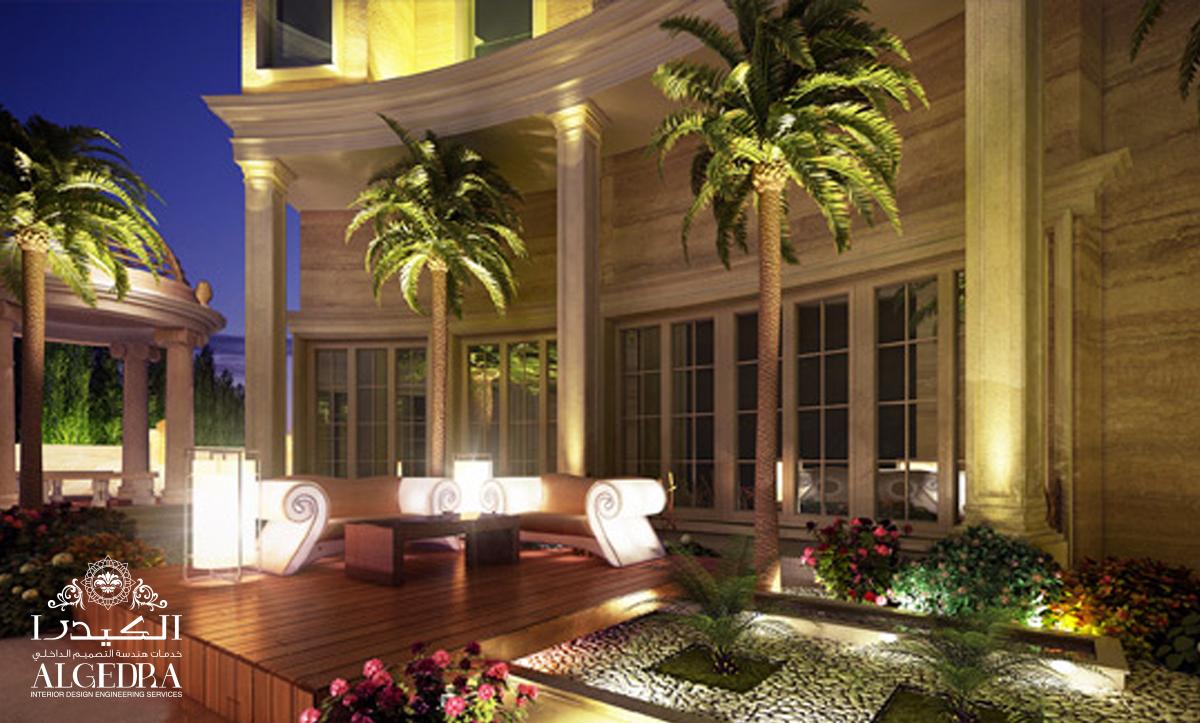 landscape garden design by Algedra Interior