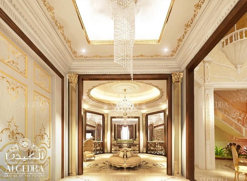 grand entrance chandelier
