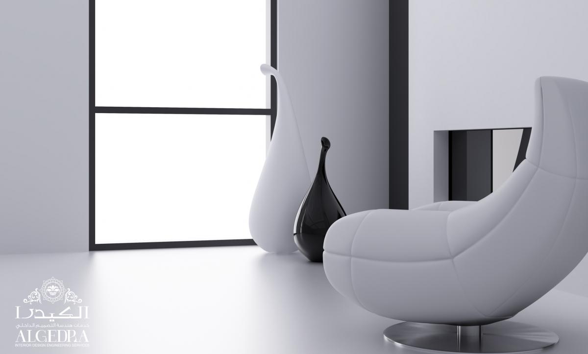 Black & white interior design