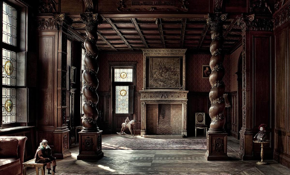 Identity Of Classic Interior Design Gothic Style Planing Phase