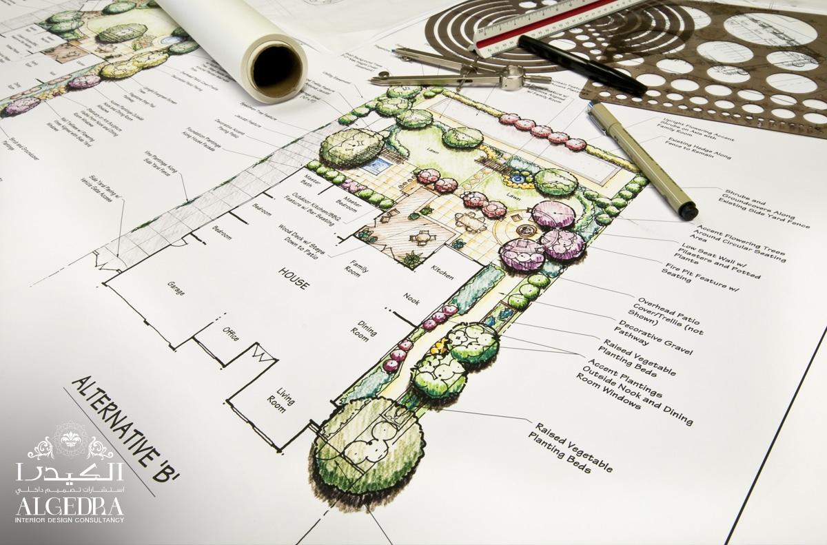 تصميم حدائق في دبي