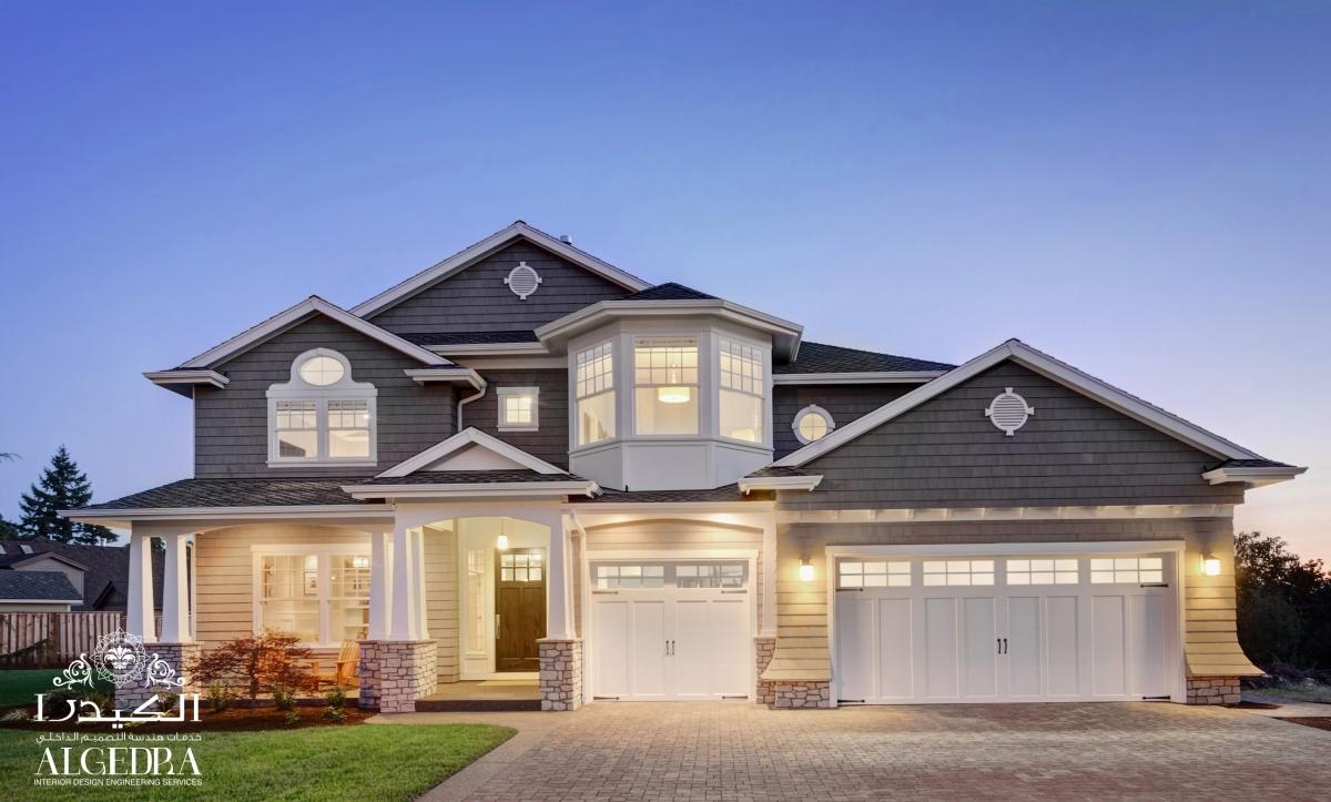 villas entrance design
