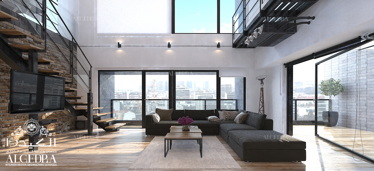 Interior Design for Penthouse
