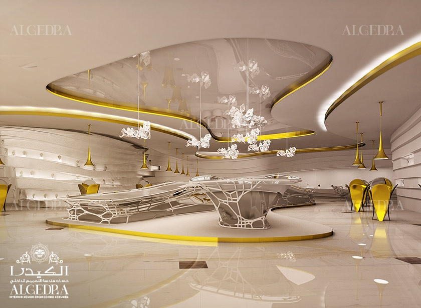 Jewelry Showroom Design