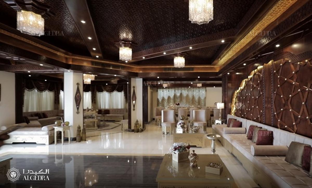 emirates hills villa design by Algedra
