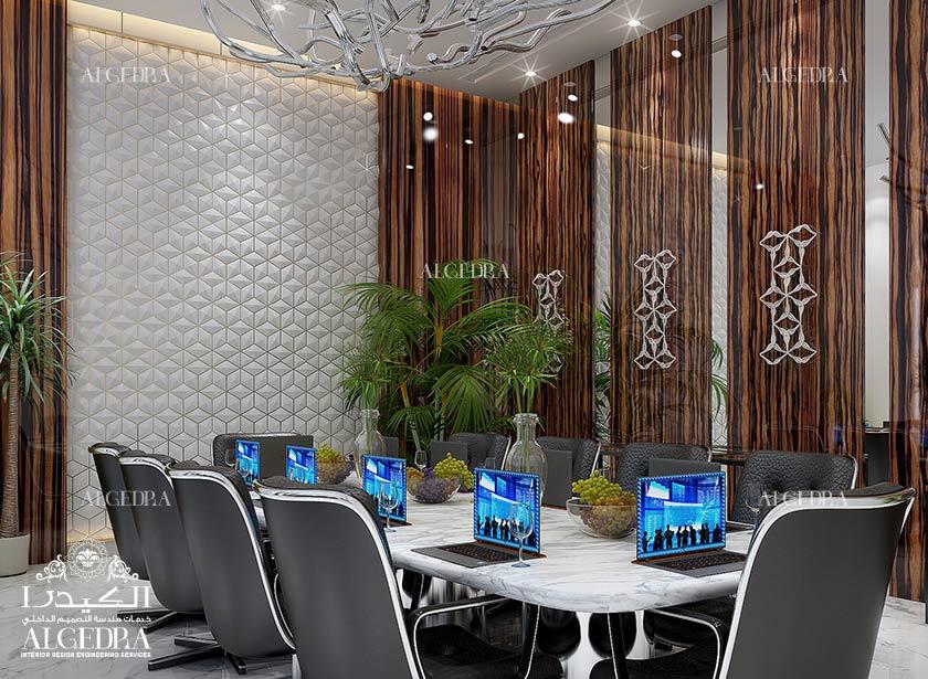 تصميم مكتب الشركة