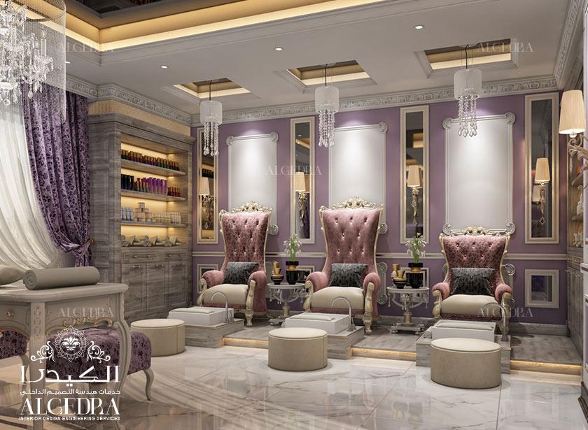 Salon Interior Design - Salon Decoration in Turkey