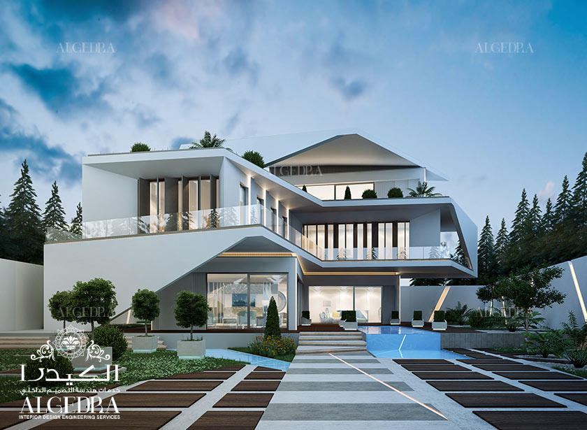 Exterior Design Gallery Best Villa Exteriors By Algedra Turkey