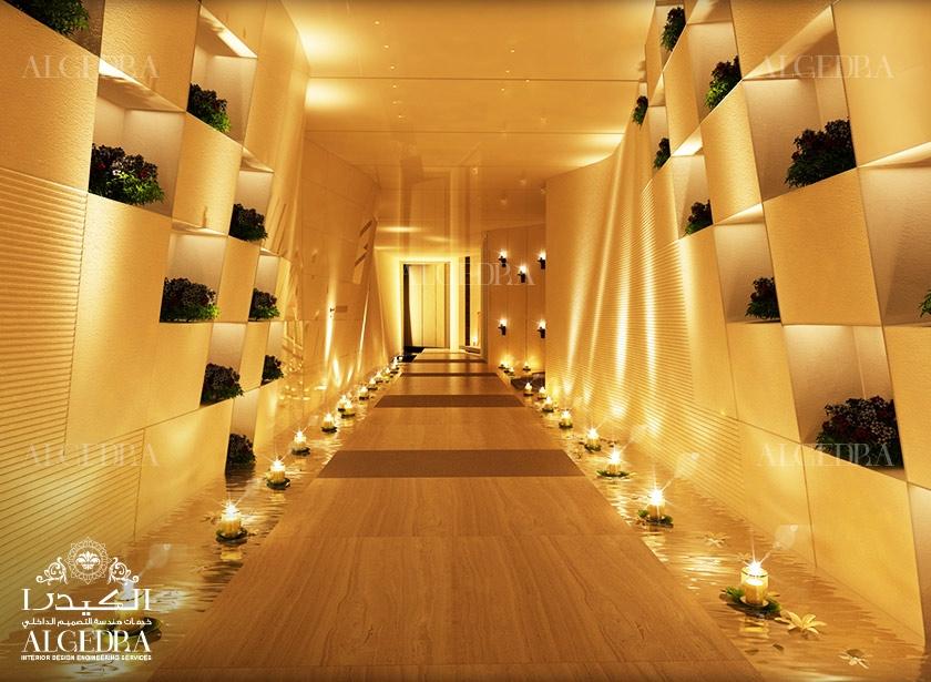 Luxury Salon Hotel Spa Interior Designer Turkey Algedra