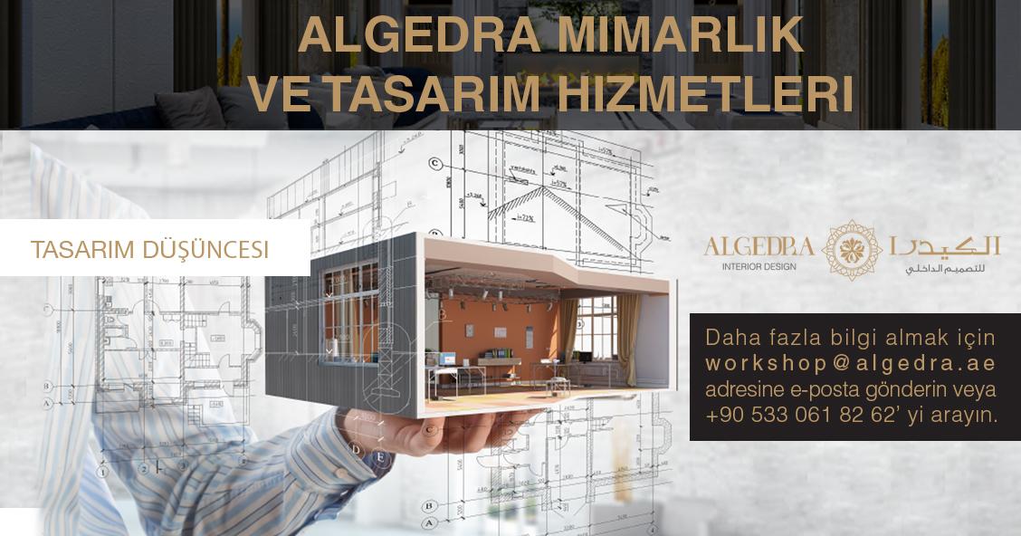 Dubai Algedra Grup, İstanbul'da bir dizi Tasarım Atölyesi düzenleyecek