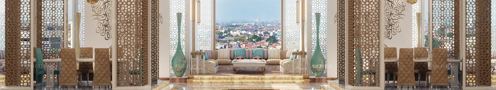تصميم مجالس فخمة في أبوظبي