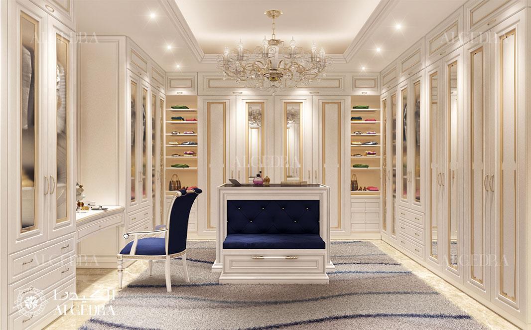 Dressing Room Design in Mohammed Bin Zayed City