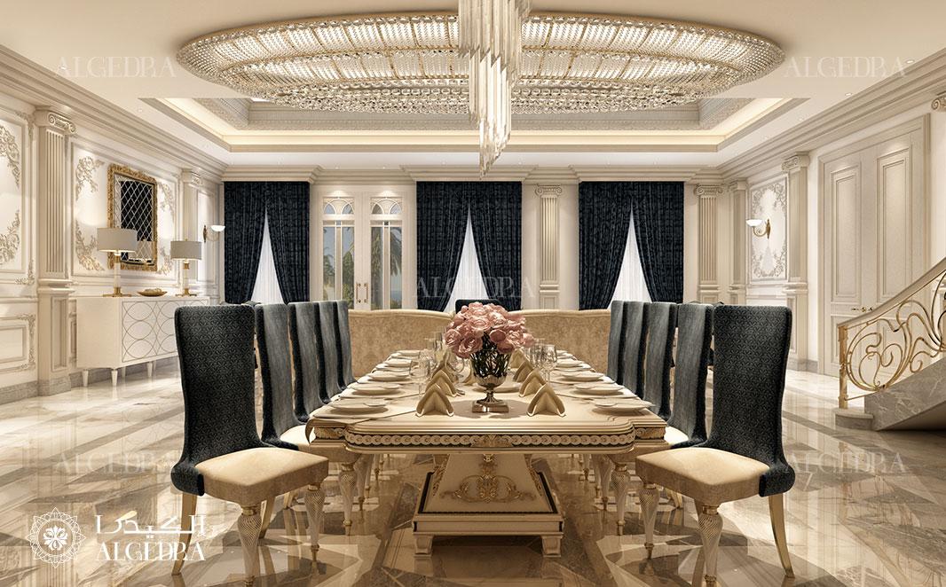 dining room design in abu dhabi